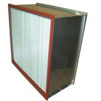 Quality ISO Standard High Temperature Air Filter , Hepa Filter H13 H14 Efficiency for sale