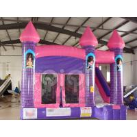 Buy Princess Jumping Castle with Slide at wholesale prices