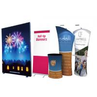 Buy cheap roll up,pop up,X-banner,L-banner,backpack flag,display stands,graphics from wholesalers