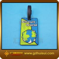 Quality rubber square luggage tag for sale
