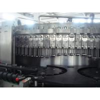 Quality 5.2KW carbonated drink filling machine / bottling equipments 9,000BPH (500ml) capability for sale