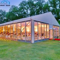 Quality Giant Outdoor Wedding Tent / Festival Marquee Tent for 200 Guests for sale