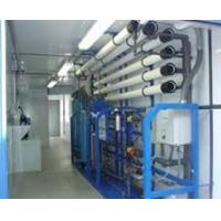 Quality Waste Water Purifier Plant Machine , SS RO Plant With Portable Diesel Generator for sale
