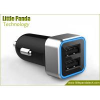 China Latest 5V 2.4A Portable Dual USB Universal USB Car Charger with Fast Speed Charging on sale