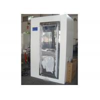 Quality 2 Person Electronic Cleanroom Three Side Blowing Dust Air Shower Channel for sale