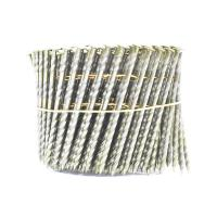 Quality 16 Degree Pallet Coil Nails Wood Screw Shank Bright Pallet Wire Coil Nails 2.8x50mm for sale