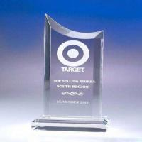 Quality Transparent Acrylic Award Trophy for sale
