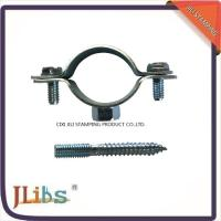 Quality Iron Sheet Materials Cast Iron Pipe Clamps 18mm-200mm Size OEM Accepted for sale