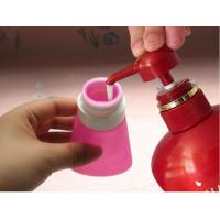 Quality 2017 new bright light colour leak proof squeezable, BPA free, Food Grade Protable Silicone Travel Bottle for sale