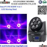 Quality 6*15W LED Small  Big Eye (RGBW 4-IN-1) for sale