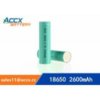 China 18650 3.7v 2600mAh lithium rechargeable battery for power bank, LED light,electric torch on sale