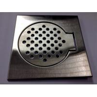 Quality Brushed Floor drain Bathroom Hardware Collections FOR BATHROOM FLOOR for sale