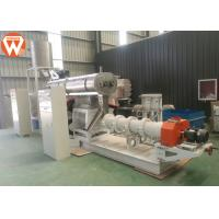 Quality Wet Type Floating / Sinking Fish Feed Production Machine Fish Feed Extrusion Process for sale
