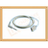 Quality PVC Gray Medical Temperature Probe Adapter Cable YSI 400 Series for sale