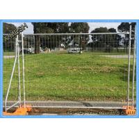 Buy cheap New Zealand Standard Temp Fence hot dipped galvanized temp fencing for sale from wholesalers