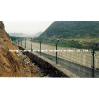 Buy cheap Durable Waterproof Security Wire Fencing , Wire Mesh Garden Fence Panels Simple Design from wholesalers