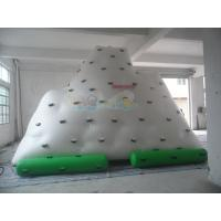 Quality Adult Inflatable climbing iceberg floating  wall for sale