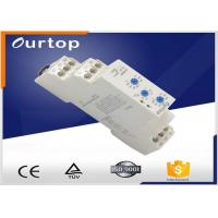 Quality AC0.7-3VA DC0.5-1.7w Multifunction Timer Relay , Spdt Time Delay Relay 5A Rated Current for sale