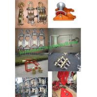 Quality Cable roller, galvanized,Cable roller with ground plate,Cable Guides rollers for sale