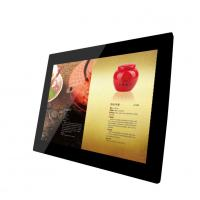 Big 15 Inch Video / Audio HDMI LCD Digital Photo Frame With Clock And Calendar