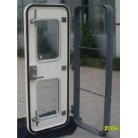 Quality Glass Fiber Reinforced Plastic Marine Weathertight Door GRP Marine Door for sale