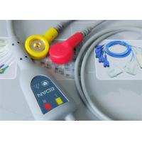 Buy Snap Electrode Holter ECG Cable 2 Leads Medical Device Accessories For Patient at wholesale prices