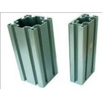 Quality Acid Resistant Shining Structural Aluminum Profiles Silver White Color for sale