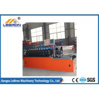Quality High strength smooth straight door frame cold roll forming machine automatic type PLC system control for sale