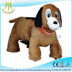 Quality Hansel animated plush animals bike motorized child cover animal bikes for sale