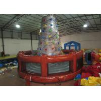 Quality Round inflatable rock climbing wall digital painting Inflatable Mountain Climbing with 0.55mm PVC Tarpaulin for sale
