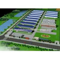 Multi Storey Prefabricated Steel Warehouse Large Span Building Sound Insulation for sale