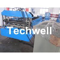 China Automatic Steel / Iron / GI IBR Roofing Profiled Sheet Roll Forming Machine on sale