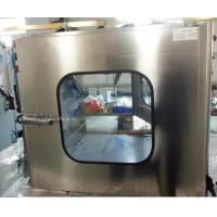 China Medical Industrial Stainless Steel Pass Box for Clean Room on sale