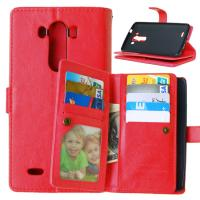 Buy LG G2 G3 G4 Stylus G4S G5 Wallet Case Retro Leather Cover Bags Pouch 9 Cards at wholesale prices