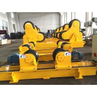 Quality Bolt Adjustment Conventional Pipe Welding Rotator with Digital Turning Speed Display for sale