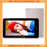 Quality 7inch 512MB/4G Allwinner A13 build in 2G tablet phone tablet pc with dual camera for sale