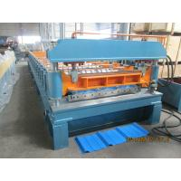 45# Steel Rib Panel Roll Forming Machine 20m / min Anti - Rust Roller