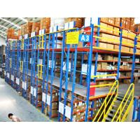 Quality Multi - Layer Powder Coating Rack Supported Mezzanine Floor With Walkways for sale