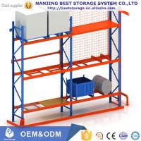 China High quality Heavy duty pallet racking Steel Q235 blue orange color on sale