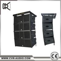 CVR Hot sell dual 10 inch line array active amplifier inside big outdooe show for sale