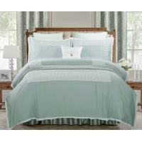 Buy cheap duck green embroidery  cotton duvet cover sets  double  queen  king from wholesalers