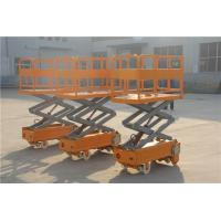 China FRP aerial work platform GRP ladder with wheel high strength on sale