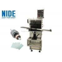 Buy cheap Auto rotor armature insulation paper insertion machine , Shaft O.D 3~17mm from wholesalers