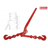 China Drop Forged Lever Type Load Binders 1/2 - 5/8 Chain Size Lifting Chain Hooks on sale