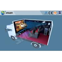 Quality Truck Mobile 5D Movie Theater , Mini 5d Project For Motion Chair Cinema for sale