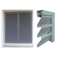 Buy cheap Vision Screen Sight Proof Ventilation Aluminium Louvre Windows For Residential from wholesalers