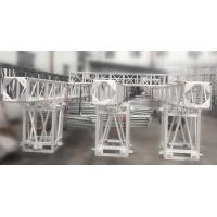 Quality Aluminum Screw Square Stage Lighting Truss 3 Tons High Load SB450mm * 450mm 12M Span for sale