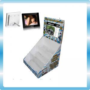 Funky TFT POP LCD Display 8 Inch Digital Photo Frame With Cardboard Display
