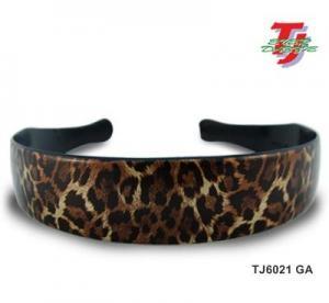 Quality Stylish Fashion Leopard Print Hair-Band for sale