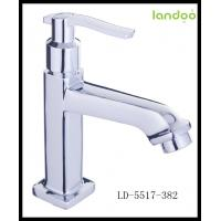 Quality single handle brass basin faucet water basin faucet brass water basin faucet for sale